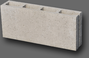 Beton kerítés falazóelem