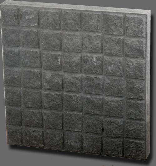 Mintázott felületű lapok - Kiskocka (Kerti lapok)