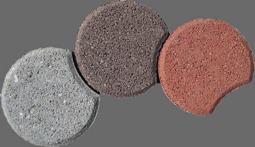 Paliszád három színben (Kertépítő elemek)